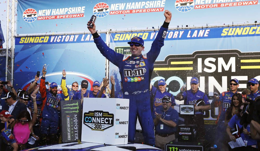 Busch Wins New Hampshire, Gets Round-2 Berth