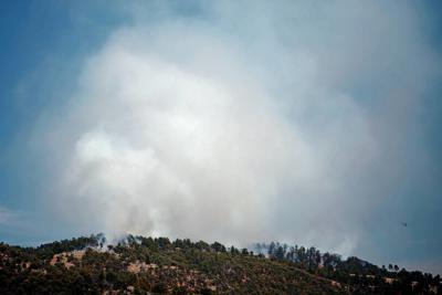 Smoke may linger from prescribed burn in Santa Fe Municipal Watershed