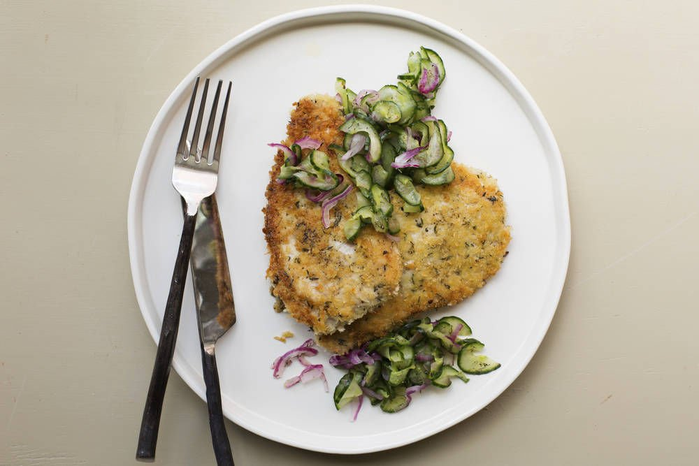 A Thin Pork Schnitzel Perfect For Weeknights
