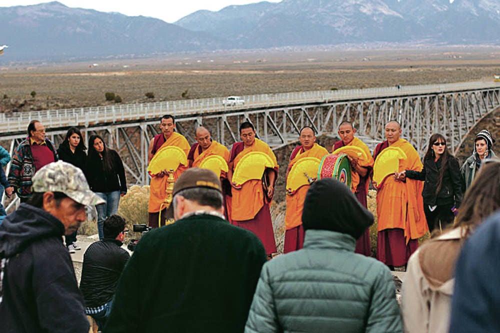 Monks bring healing to Rio Grande Gorge bridge