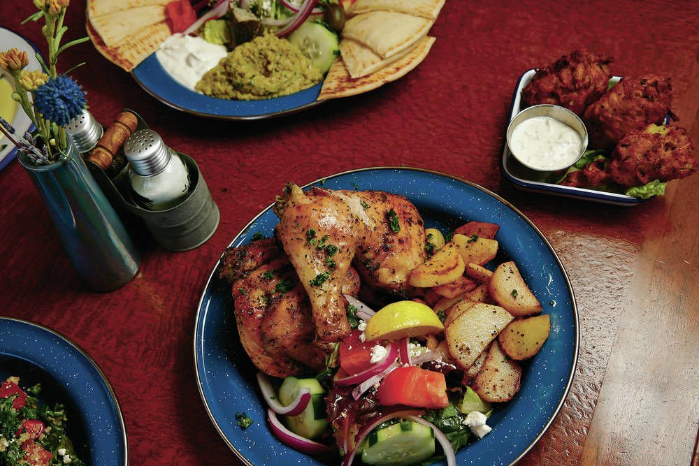 Going Greek at Yamas