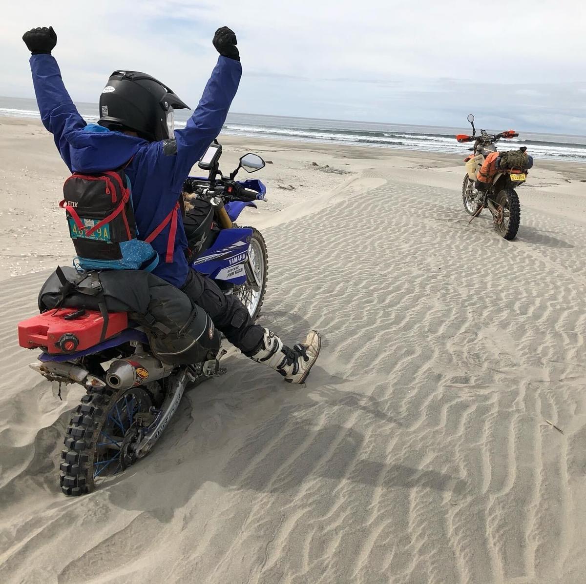Baja by dirt bike