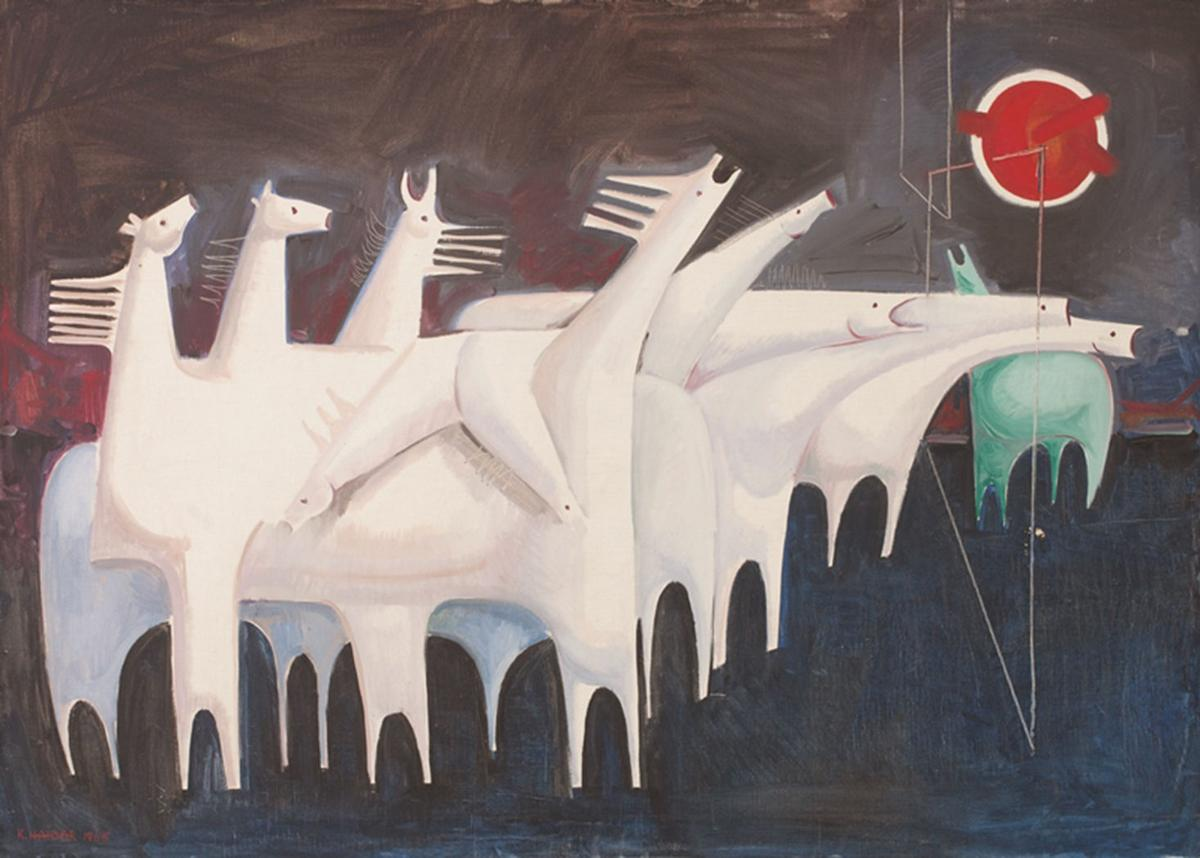 Conflict, exile, uprising: Arab art from the modern to the ...