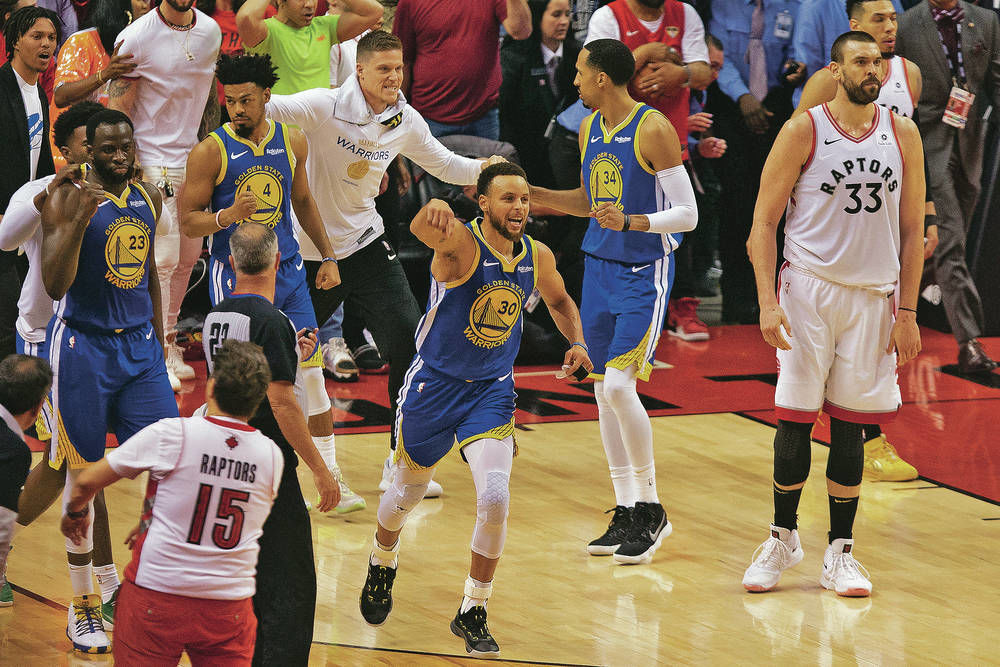 Warriors hang on for dear life