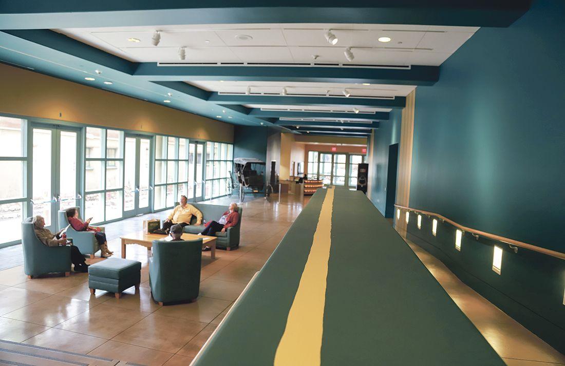 New Mexico History Museum Lobby Renovation