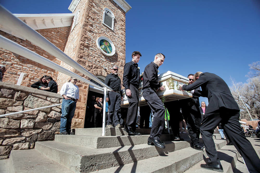 Hundreds gather in Pecos to say goodbye to Jeremiah Valencia