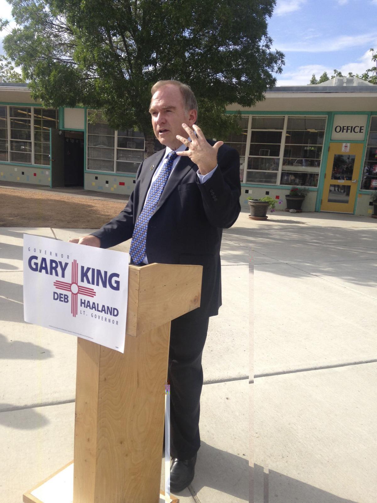 Gary King: Fire Skandera, reduce school testing