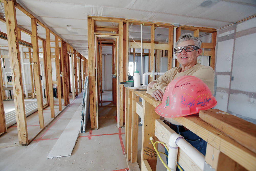 She's building homes, skills and confidence