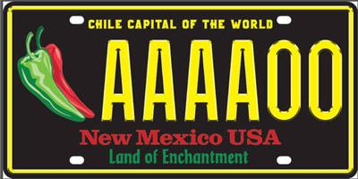 New Mexico Motor Vehicle Division Albuquerque Nm >> Chile License Plates A Popular Order Local News