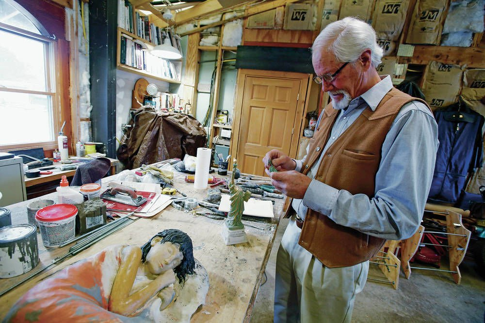 Santa Fe artist reinventing Lady Liberty as symbol for migrants