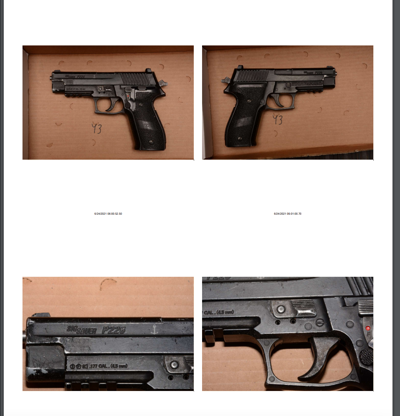 New Mexico State Police evidence photos