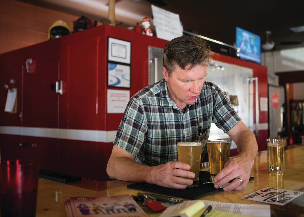 Restaurant and brew pub team up at former Jemez Springs fire station