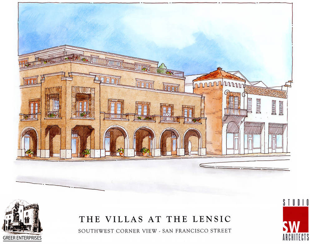 Years-long effort to build hotel near the Lensic stalls