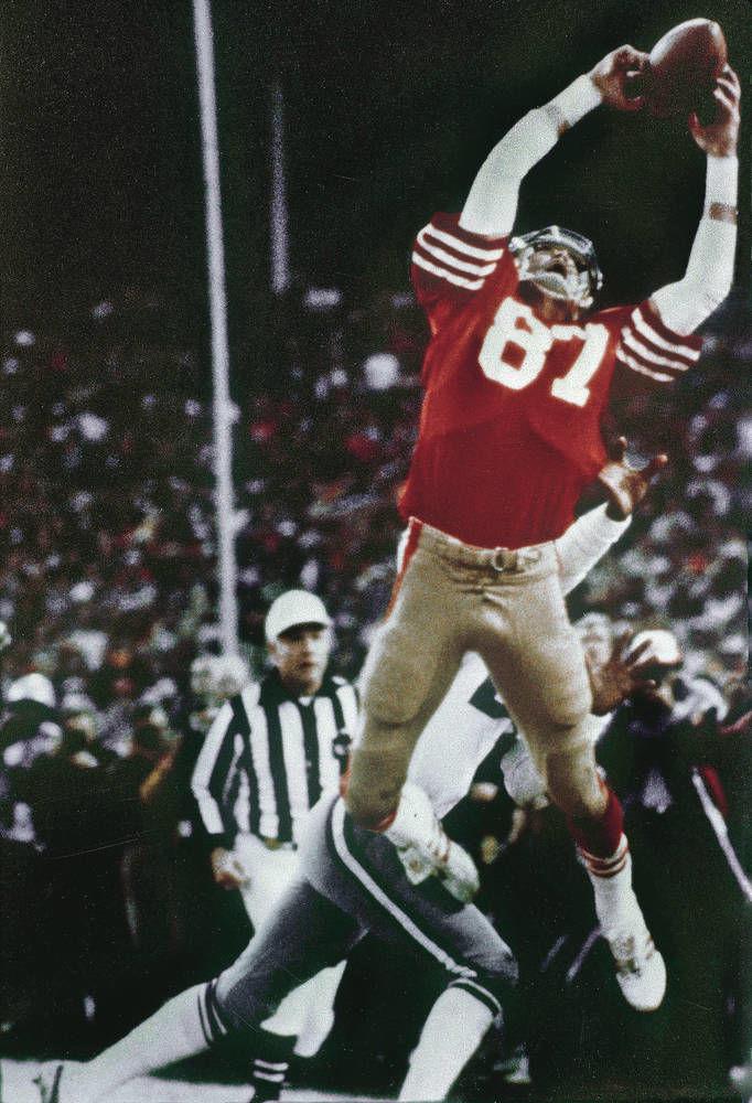 036df79b1 Former 49ers wide receiver Dwight Clark dead at 61. San Francisco ...