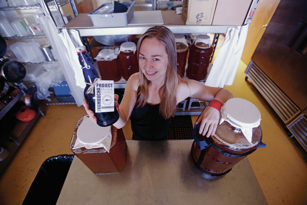 Santa Fe woman's Kombucha Project aims to deliver a healthy (nonalcoholic) buzz