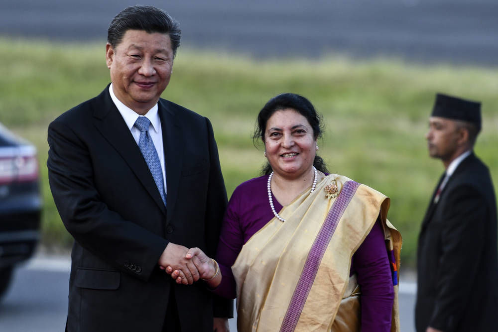 Xi becomes 1st Chinese president in 2 decades to visit Nepal