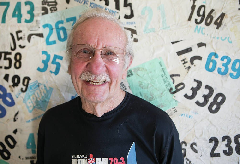 Iron will propels triathlete, 83 | Local News