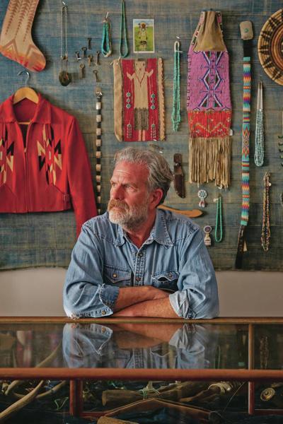 Vintage clothes dealer was 'a cowboy at heart'