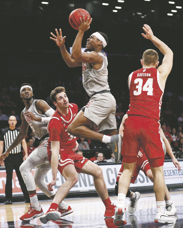 Wisconsin New Mexico Basketball