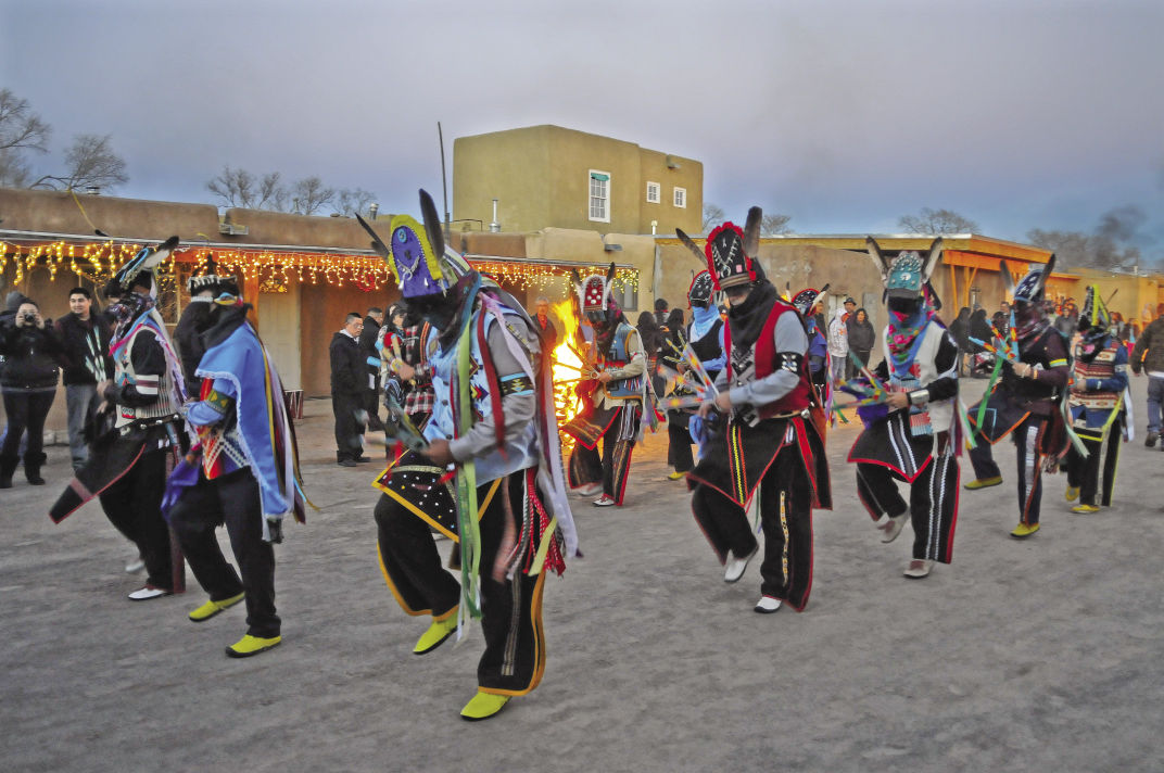 Ohkay Owingeh Christmas Dances 2020 A spiritual feast | Feliz Navidad 2014 | santafenewmexican.com