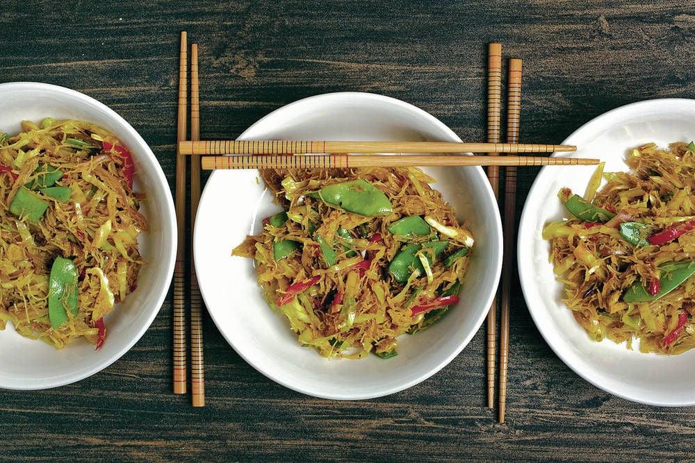 Singapore noodles get a lean makeover taste santafenewmexican singapore noodles get a lean makeover forumfinder Gallery