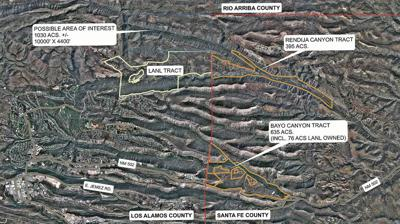 Santa Fe County officials skeptical of land swap proposal from Los Alamos County