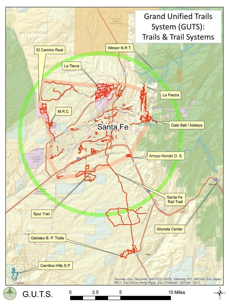 A grand unified trail system for Santa Fe