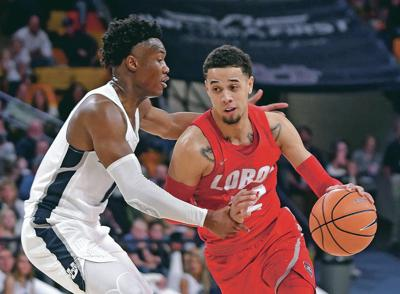 Hot-shooting Mathis helps buoy Lobos