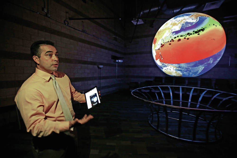 SFCC's Science On a Sphere aims to enliven classroom lessons