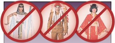 Cultures aren't costumes