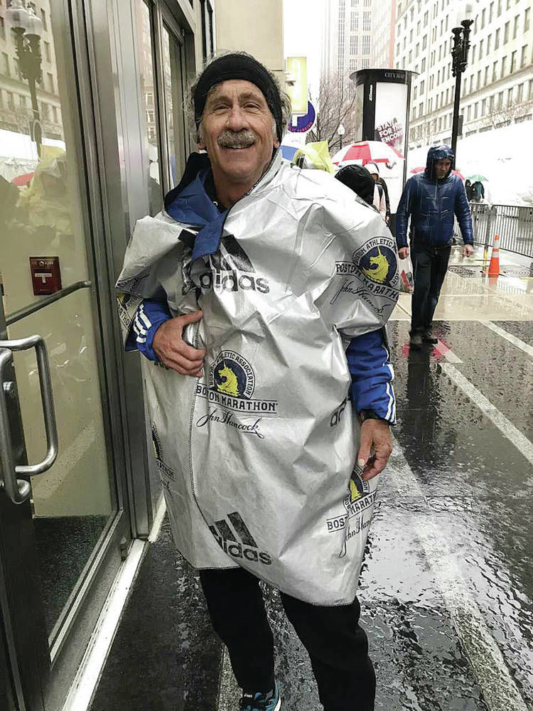 Harsh weather dampens local runner efforts in Boston Marathon