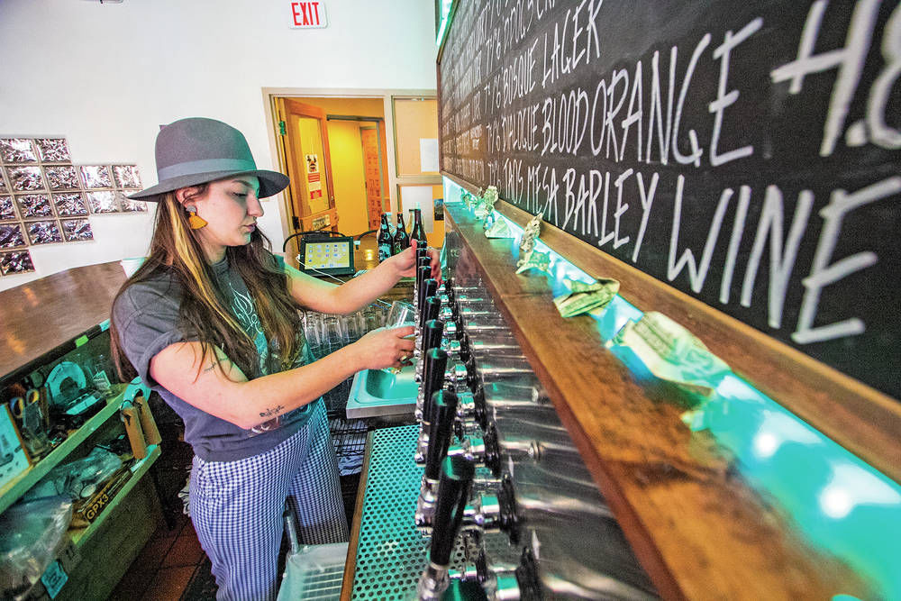 Desert Dogs Brewery and Cidery quietly builds following with selection of cider and beer