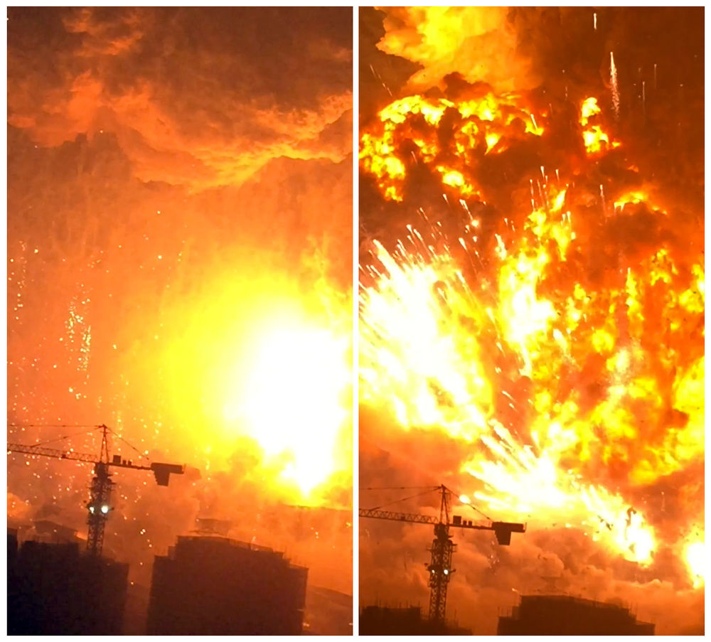 44423c355b8 Firefighter rescued from blast zone in China s Tianjin port
