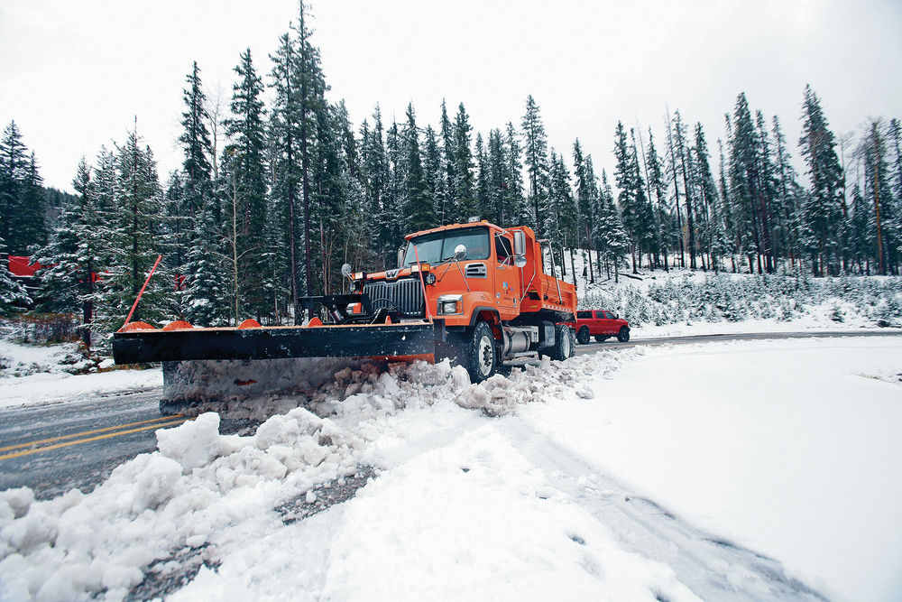 Storm system drops heavy rain on city, snow at ski basin