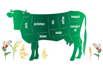 meatless cow