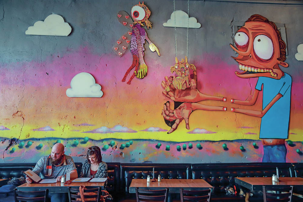 The Skillet in Las Vegas, N.M., serves up unique menu, cocktails and art