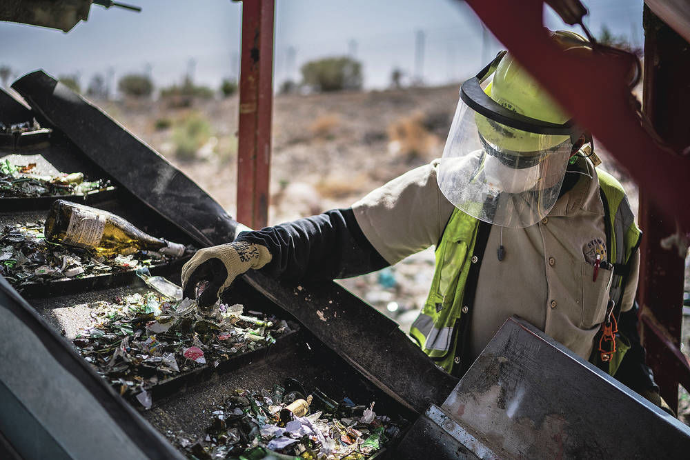 Solid waste board eyes costlier contract to recycle glass