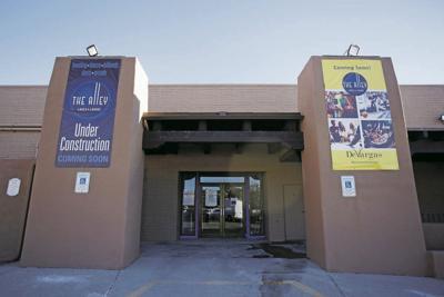 Progress on DeVargas Center bowling alley