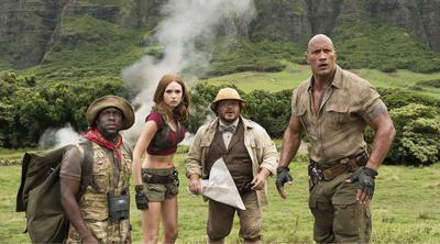 """Into the wild: """"Jumanji: Welcome to the Jungle"""" at the Railyard Park"""