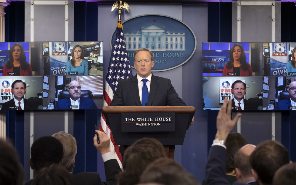 New faces at White House press briefings