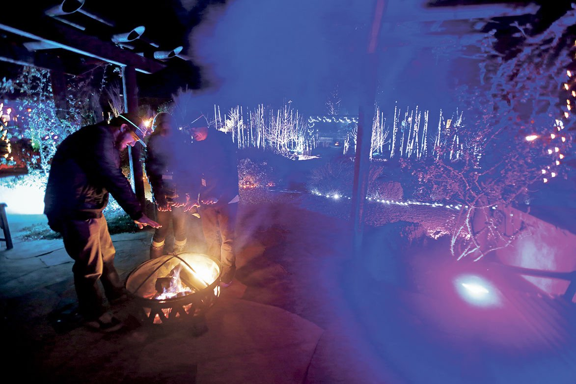 Glow At The Santa Fe Botanical Garden; Photo Luis Sánchez Saturno/The New  Mexican