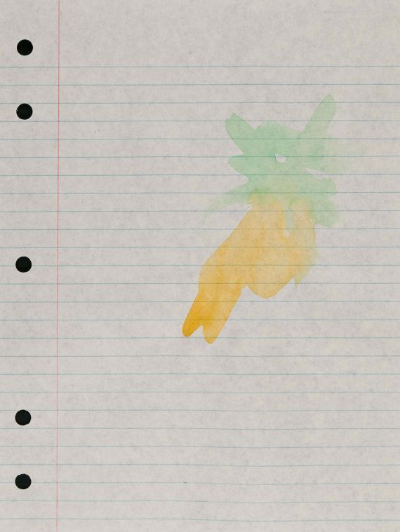 "Richard Tuttle: ""Loose Leaf Notebook Drawing"""
