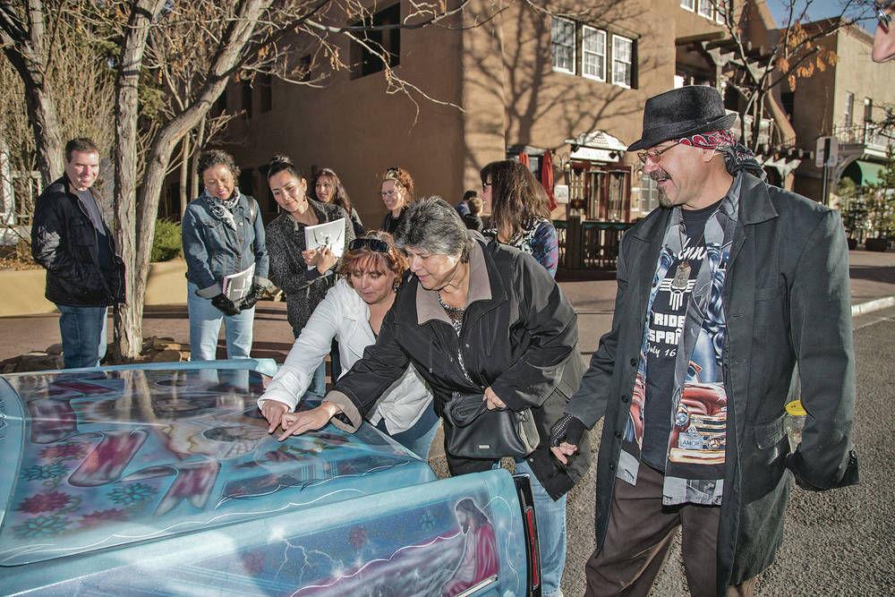 Lowriders cruise into Santa Fe