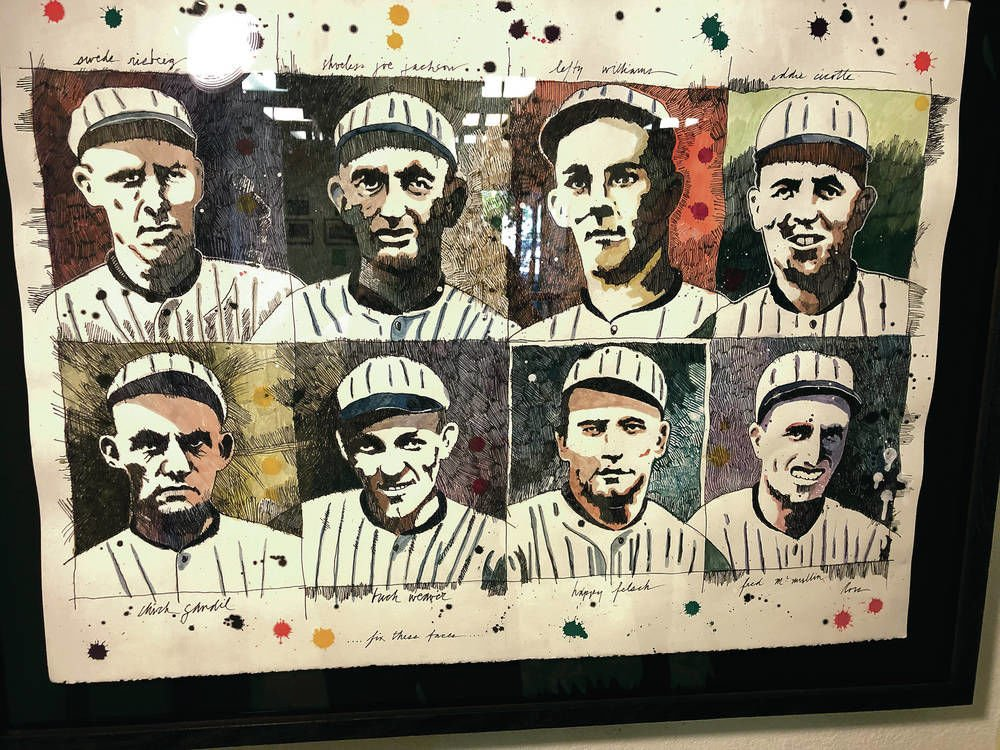 Lany painter brushes back Black Sox claims of innocence