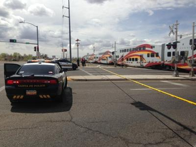 Police: Female bicyclist fatally hit by Rail Runner