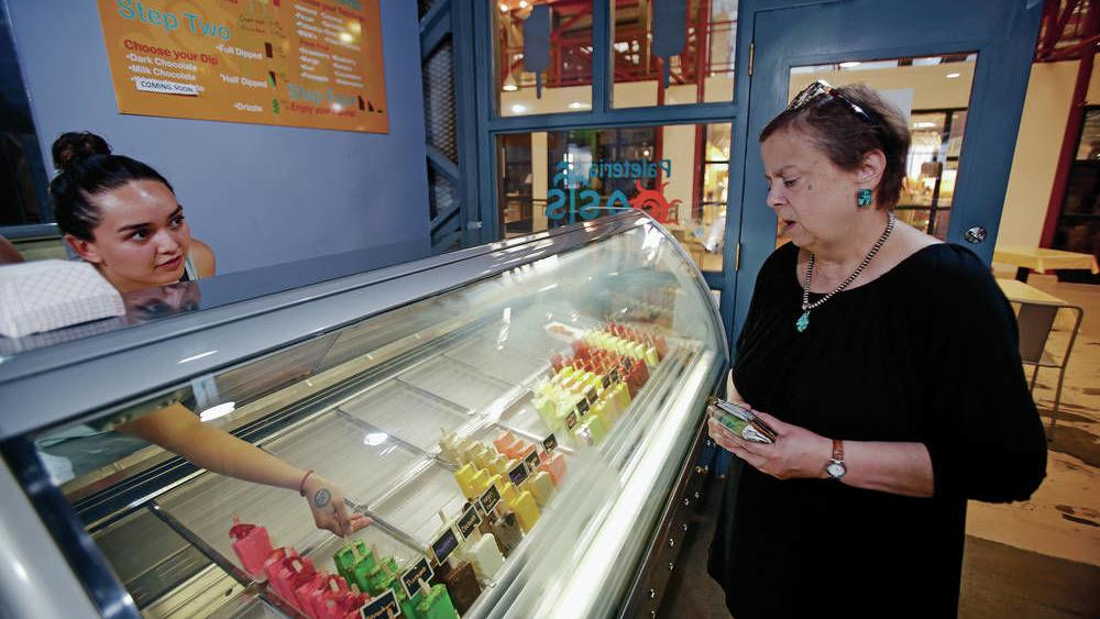 Paleteria Oasis Brings Its Mexican Ice Pops To Downtown With Second