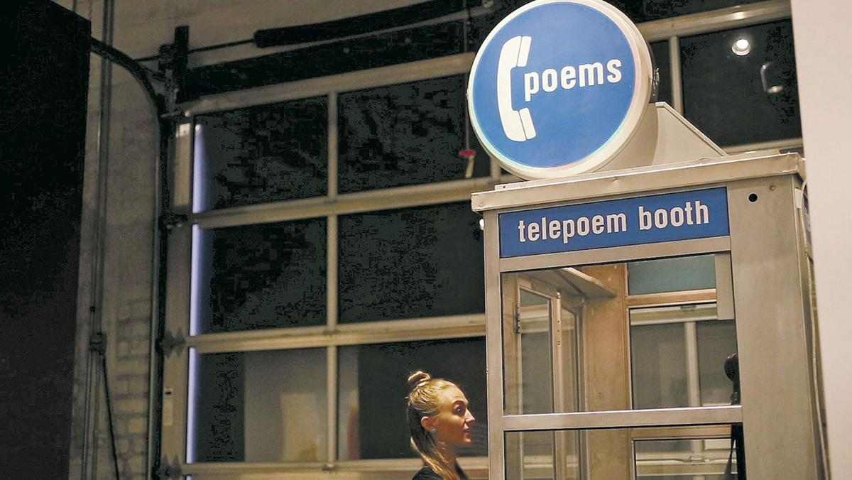 5 Telepoem Booth Project 1