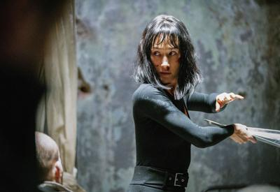 Maggie Q brings lethal moves and a James Bond-like finesse to 'The Protege'