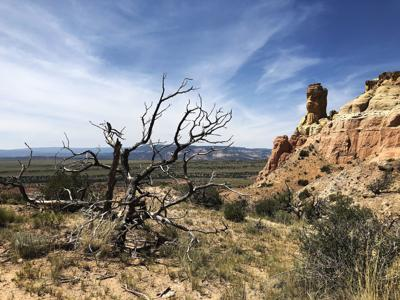 Ghost Ranch provides a prime fall hiking destination