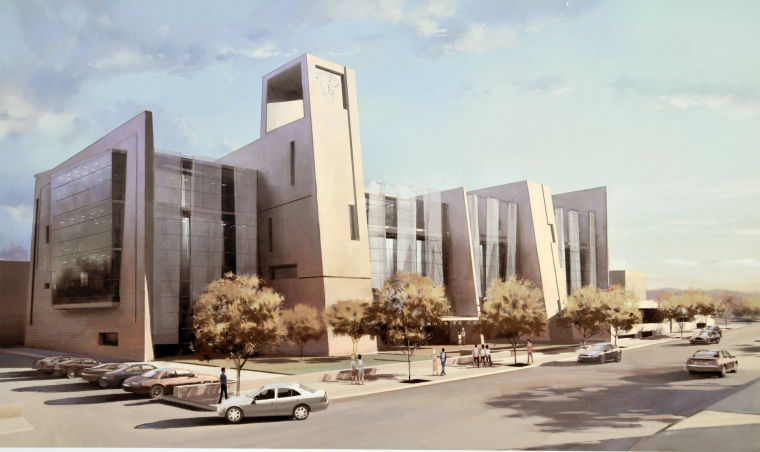 Proposed courthouse design